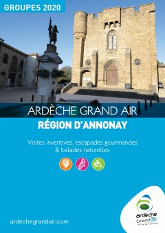 Brochure groupes Ardèche Grand Air 2020